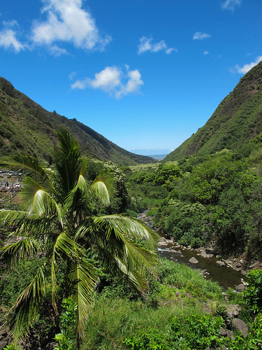 View through Iao Valley