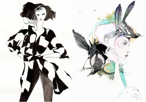 6014901468 d9a54706c5 30 Fashion Illustrators You Can't Miss Part 3