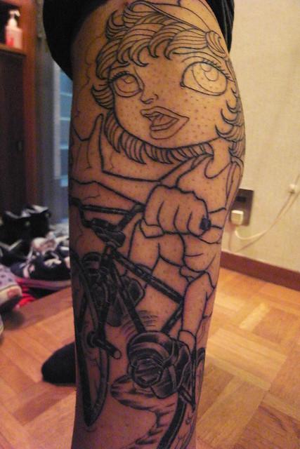 AYM's tattoo