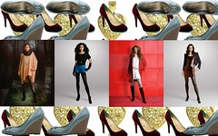 Fashion Collage Wallpaper