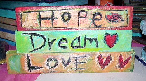 Hope Dream Love by Emilyannamarie