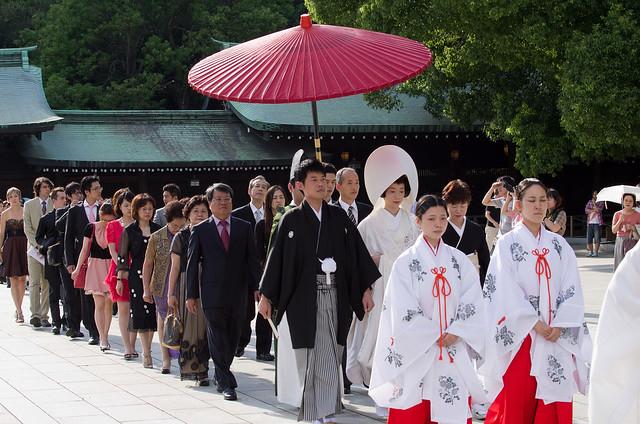 遠渡重洋的日本明治神宮婚攝