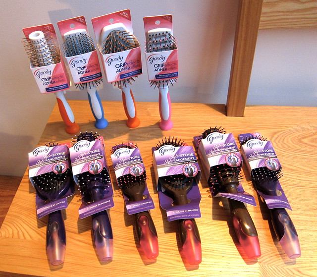 Goody brushes
