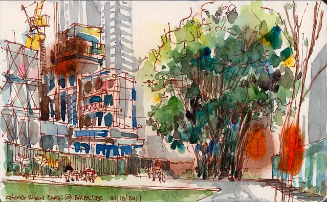 Zhong Shan Park @ Balestier