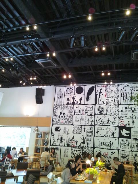カフェ ネスカフェ原宿でサイト座談会の写真