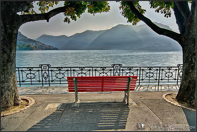 Suiza - Lago de Lugano - El cazador de bancos - Bench Hunter part XLII