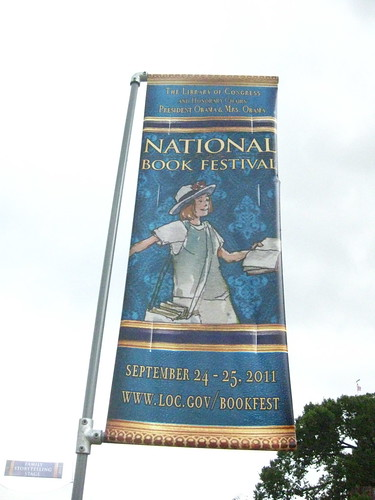 Cool Book Festival Sign, 2011