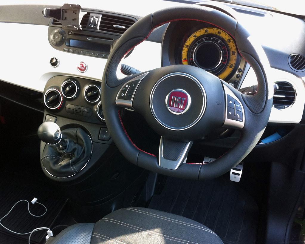 New Abarth Steering Wheel