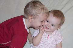 Colin Kissing Alannah (Craig Dyni) Tags: boy baby girl colin finn madelyn alannah dyni