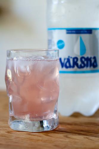 Rabarberilimonaad / rhubarb lemonade