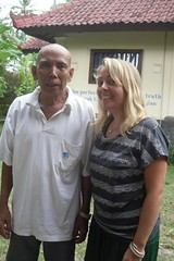 SDC10032 Clare and the Medicine Man (ashramgandhi) Tags: man yoga clare retreat medicine ashram candidasa june2011