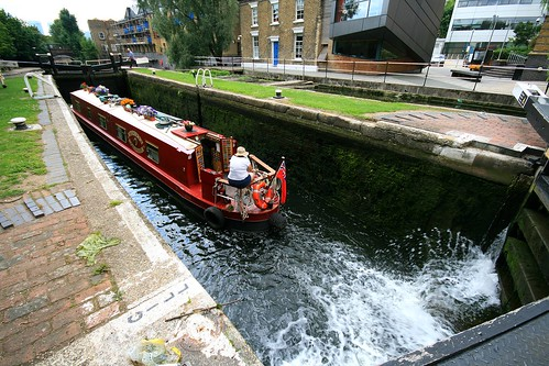 Old Ford Lock, Regent Canal, London
