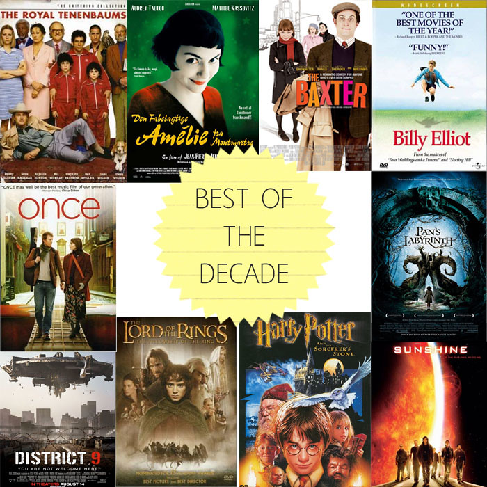 Best of the Decade- Movies