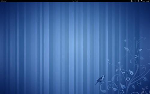 Fedora 15: Gnome 3 desktop