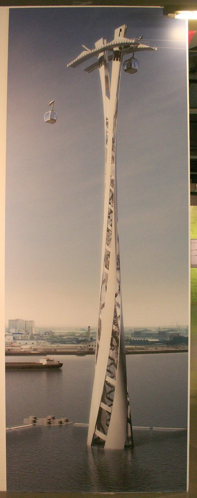 Large photo of the south pylon