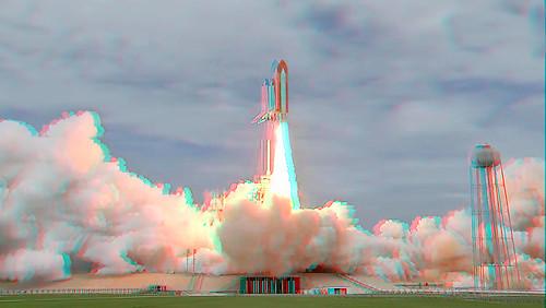 sts135 3D Launch