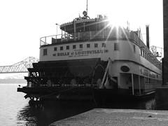 """Belle of the Ball"" (Josh_G) Tags: water river boat ship kentucky louisville steamboat steamer ohioriver belleoflouisville paddlewheelboat"