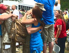 Homecoming Hug (bluebrightly) Tags: family afghanistan casey no more homecoming marines 39 colby semperfi colbys lejeune