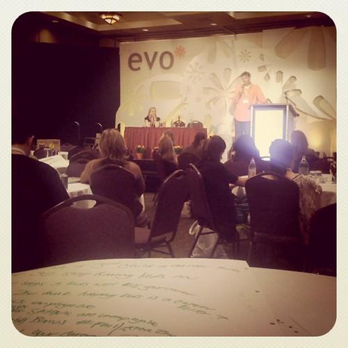 The Growing Your Blog session is awesome! @babycenter @ledadler #evoconf