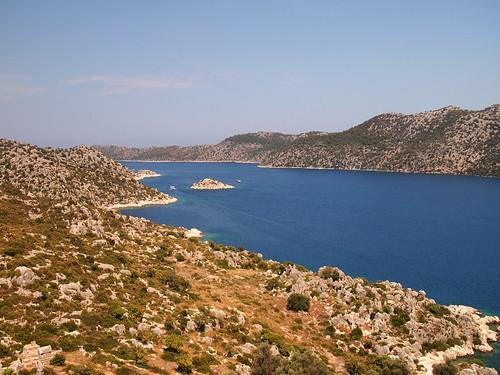 湛藍的地中海