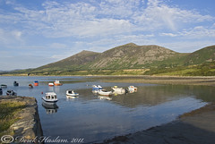 Trefor. Evening sun. (hsacdirk) Tags: macro wales night north diving 60mm d3 trefor