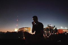 (william michael hess) Tags: buildings citylights pbr cigs rooftopparty