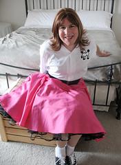 Upskirt Poodle skirt