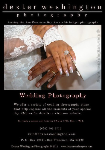 Dexter Ad #3: Wedding Photography