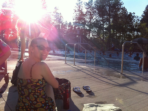 Poolside