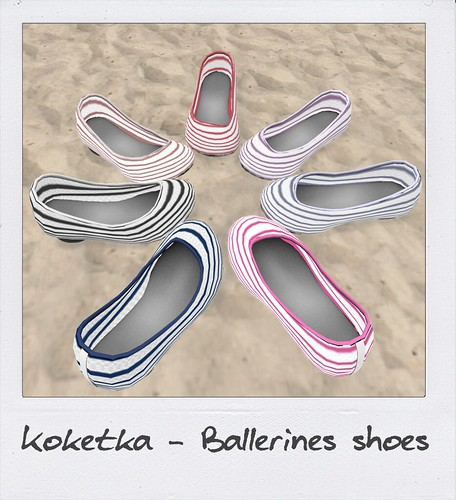 NEW! Koketka Ballerines shoes