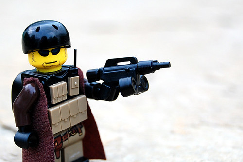 Custom minifig Custom RMA Patriot Pistol