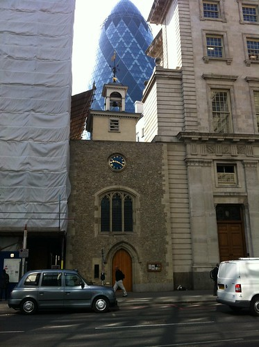 The old and the new in London. by despod