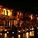 Cusco a noite. Muitos turistas!!