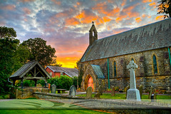 Inskip Church, Lancashire UK (futureal33) Tags: sunset england church northwest churches hdr inskip besthdr churchhdr lancashirechurches churchlancashire futureal33photography