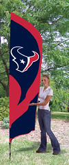 Houston Texans Tall Feather Flag
