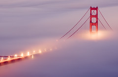 Hold you in my arms (shhflights) Tags: sunset fog lights cool goldengatebridge pentaxkx cool2 cool5 cool3 cool6 cool4 slackerhill cool7 iceboxcool unanicool