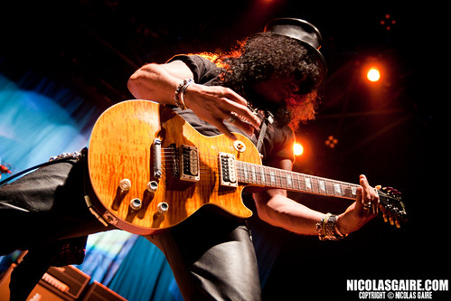 Slash @ Zénith , Paris | 12.07.2011