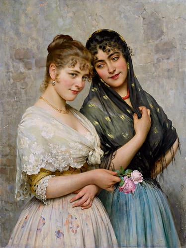 Eugene von Blaas - Venetian Beauties