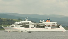 Cruise ship (annie in alba) Tags: greenock ships tall races 2011