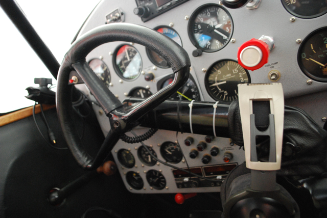 Beech Model 17 Staggerwing Cockpit by Steinerwirt, on Flickr