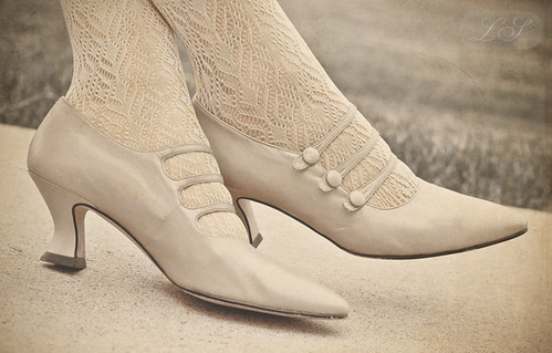 Old Edwardian shoes