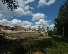 Fortanete: panoràmica des de l'antiga fàbrica d'Herrero