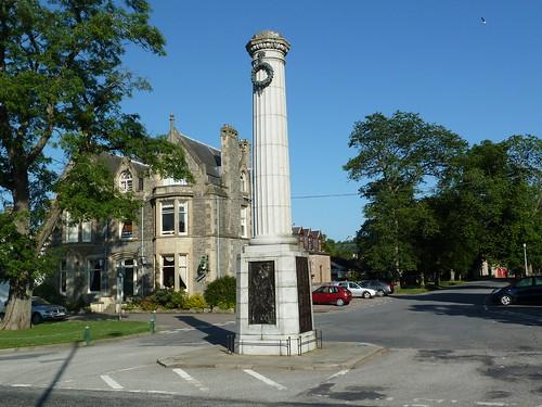 War Memorial, Grantown on Spey, Highlands