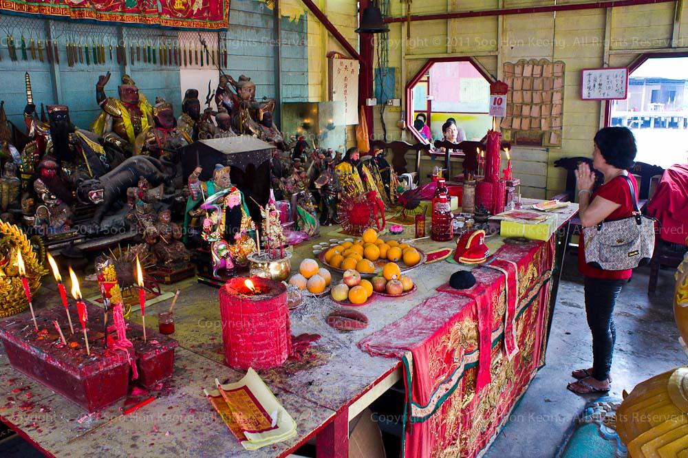Temple @ Pulau Ketam, Malaysia
