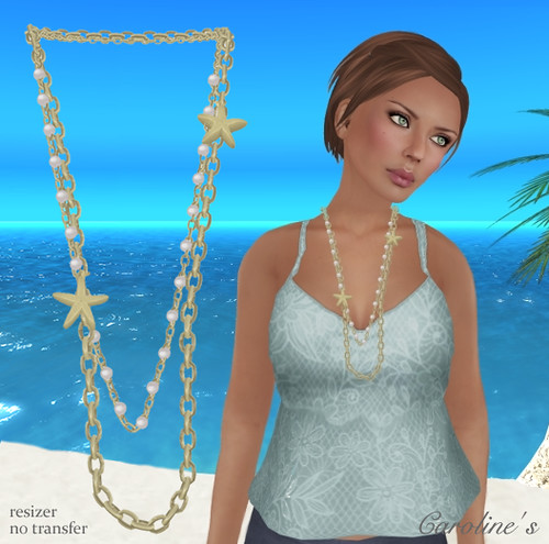 Caroline's Sea Necklace