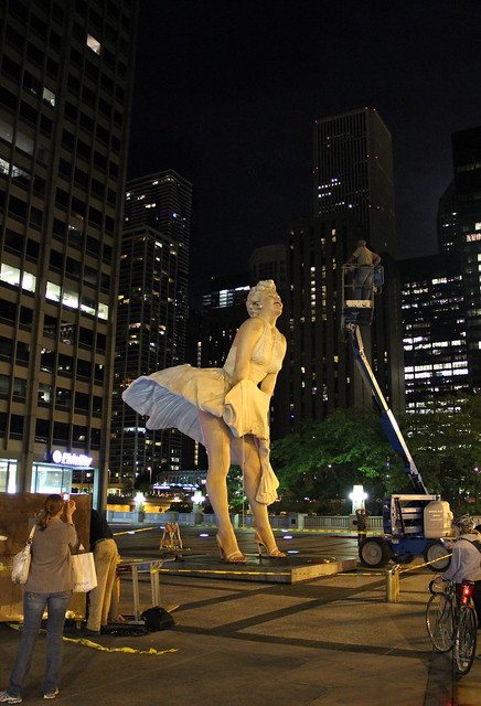 Marilyn Monroe, Chicago