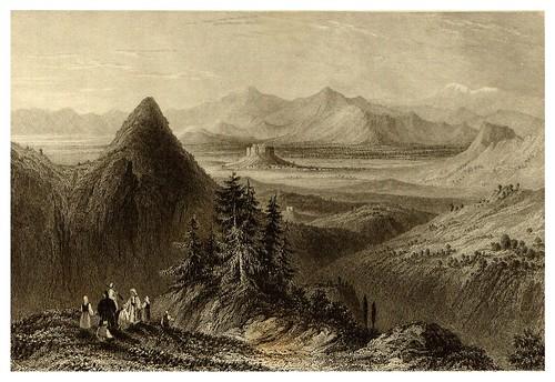 001-Atenas vista del monte Hymete-La Grèce pittoresque et historique 1841- Christopher Wordsworth-© Biblioteca de la Universidad de Heidelberg