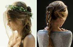 flowershair1 wtf (bisouschic) Tags: flowers hair braid