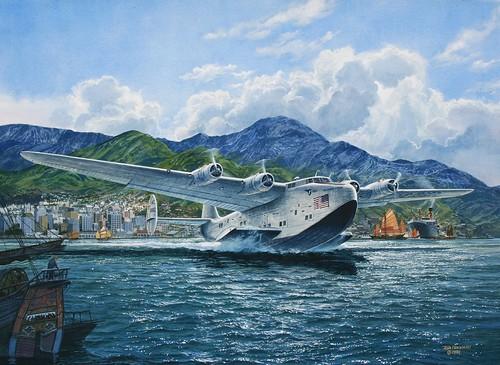 Boeing 314 Clipper by Tom Freeman
