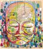 Vozes (rabisco antigo ) (. ♦ F L F ♦ .) Tags: china portrait india art love colors face illustration poster graffiti peace cheek place amor dream peaceful monk pop tibet textures meditation sonho buda grafite aquarela budismo walpaper rabisco ilustraçâo franciscofreitas